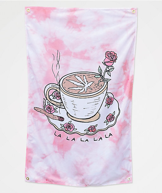 Melodie Perfection Pink Tie Dye Banner