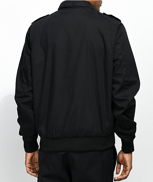 Members Only Iconic Black Racer Jacket