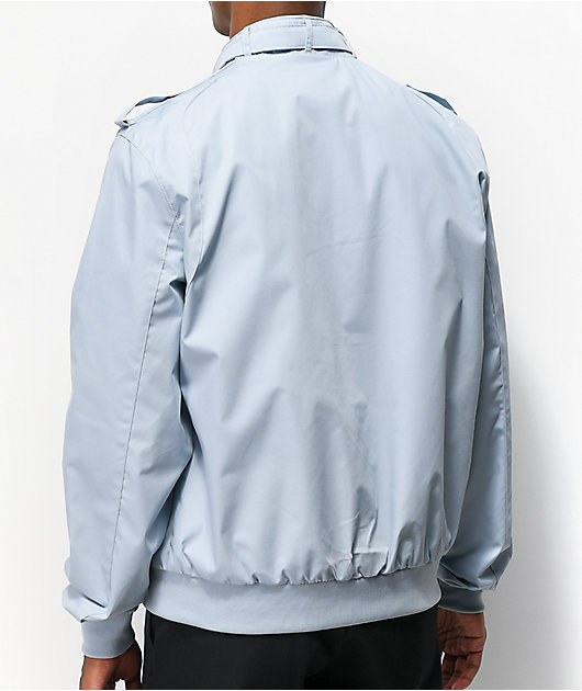 Members Only Iconic Racer Light Blue Jacket