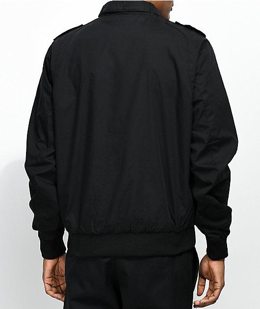 Members Only Iconic chaqueta negra de carreras
