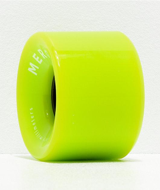 Mercer Green 60mm 80a Cruiser Skateboard Wheels