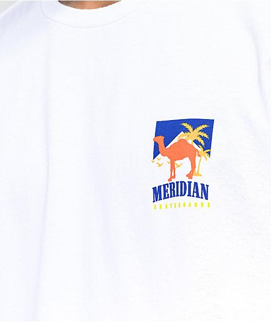 Meridian Camel Back White T-Shirt
