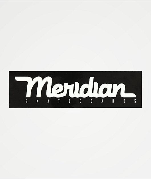 Meridian Skate Script pegatina