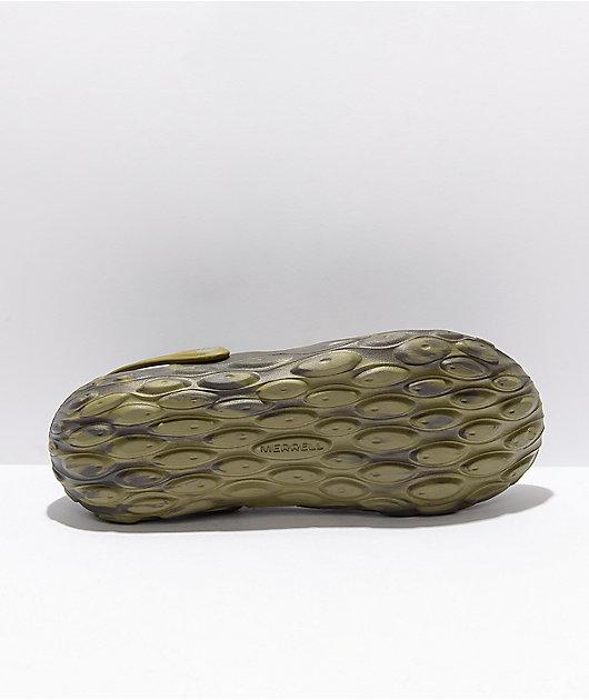 Merrell Hydro Moc Olive Drab  Clog Shoes