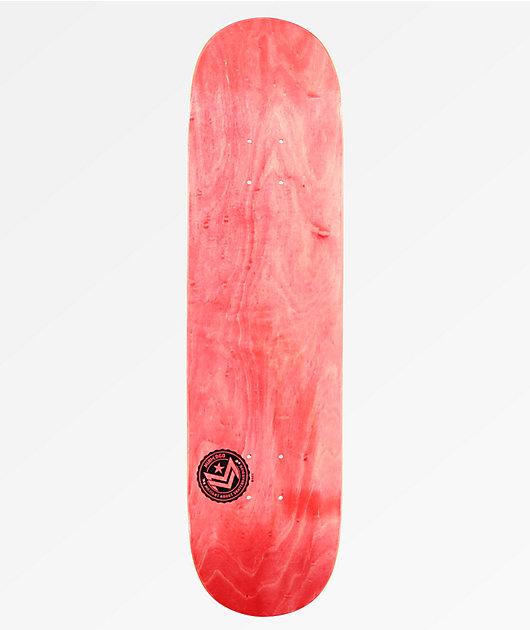 """Mini Logo Chevron 8.0"""" tabla de skate roja"""