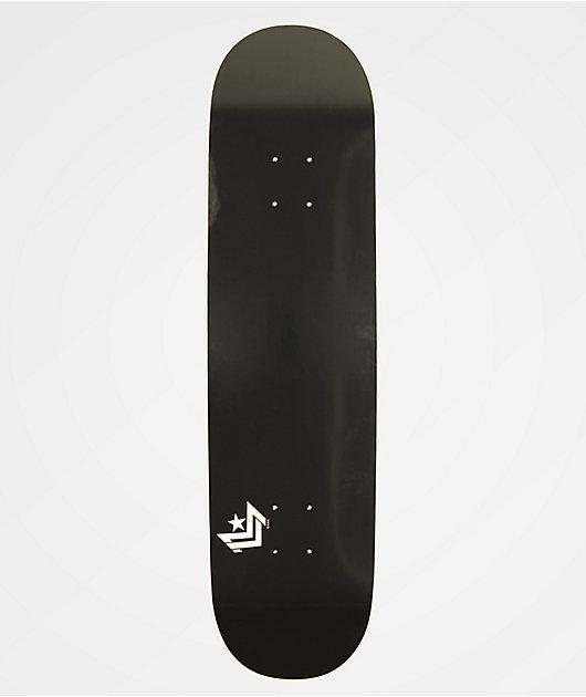 """Mini Logo Chevron 8.25"""" tabla de skate negra"""