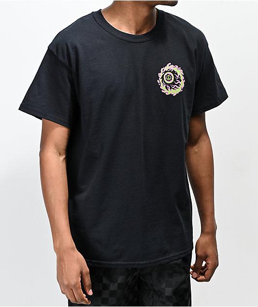 Mishka Peaceful Eye camiseta negra