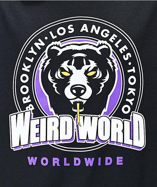 Mishka Weird World Black T-Shirt