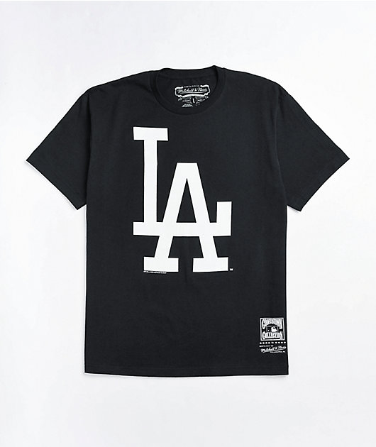 Mitchell & Ness LA Dodgers Black T-Shirt