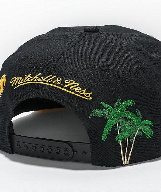 Mitchell & Ness x LA Lakers Champ Patch Snapback Hat