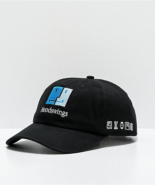 Moodswings Face gorra negra