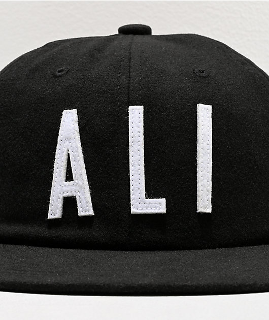 Muhammad Ali x Diamond Supply Co. Ali Sign gorra negra