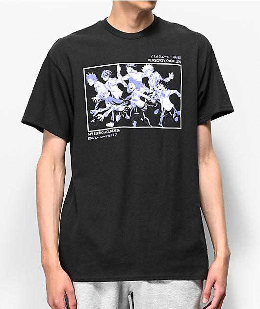 My Hero Academia Class 1-A Black T-Shirt