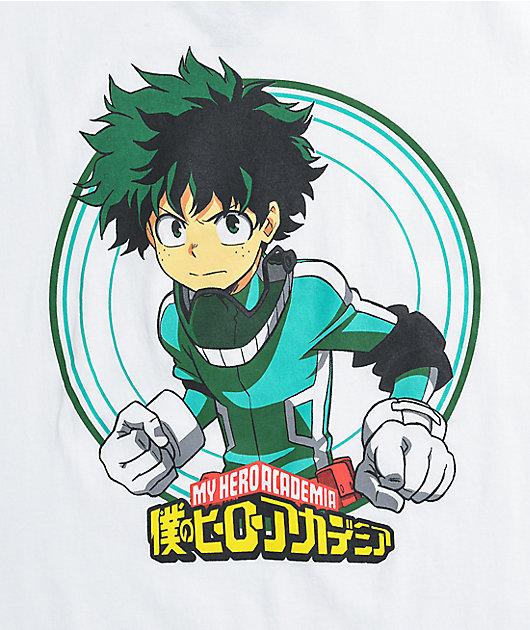 My Hero Academia Izuku Midoriya White T-Shirt