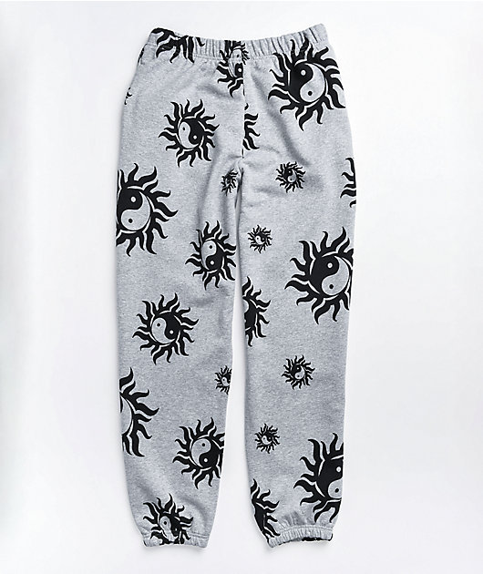 NEW girl ORDER Yin Yang Grey Sweatpants