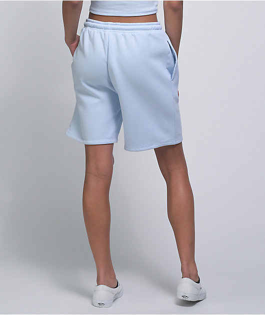 NGOrder Devil Angel Light Blue Sweat Shorts