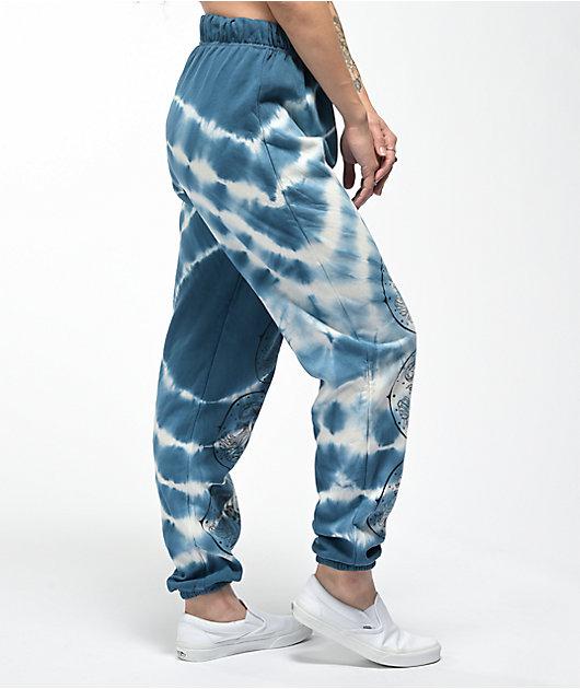 NGOrder Opera Lady Navy Tie Dye Sweatpants