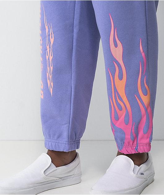 NGOrder Speed Demon Purple Jogger Sweatpants