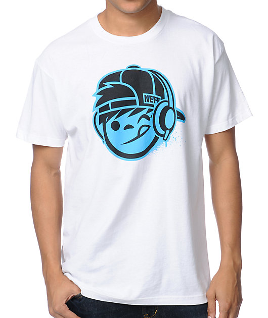 Neff DJ Kenny 2 White T-Shirt