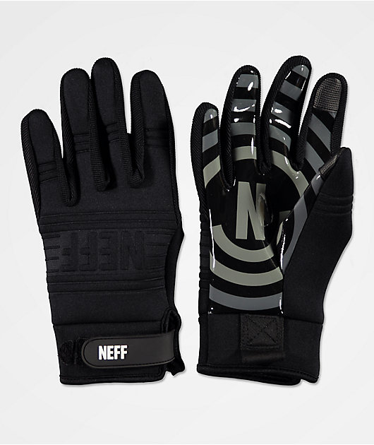 Neff Daily Black & Grey Pipe Snowboard Gloves