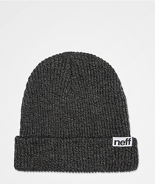 Neff Fold Heather Beanie Charcoal//Grey