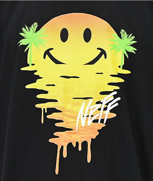 Neff Happy Daze Black T-Shirt