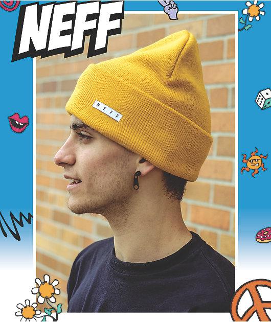 Neff Lawrence gorro dorado
