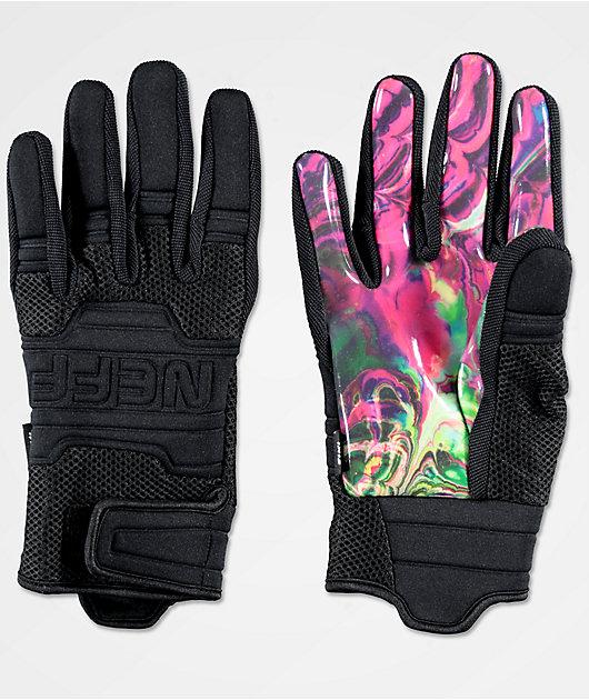 Neff Rover Eiki Black Pipe Snowboard Gloves