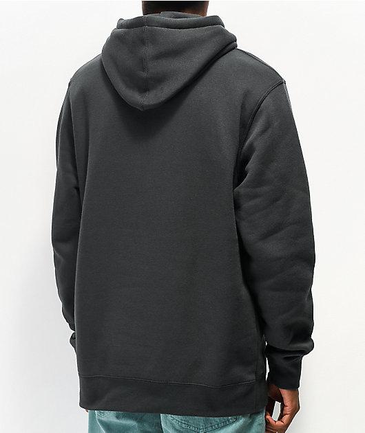 Neff Setup sudadera con capucha de polar negro