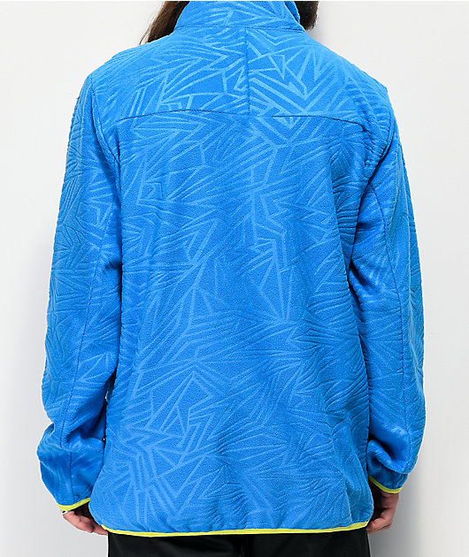 Neff Throwback chaqueta de polar técnico azul