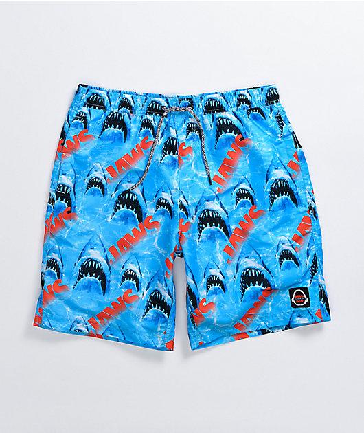 Neff x Jaws Hot Tub Blue Board Shorts