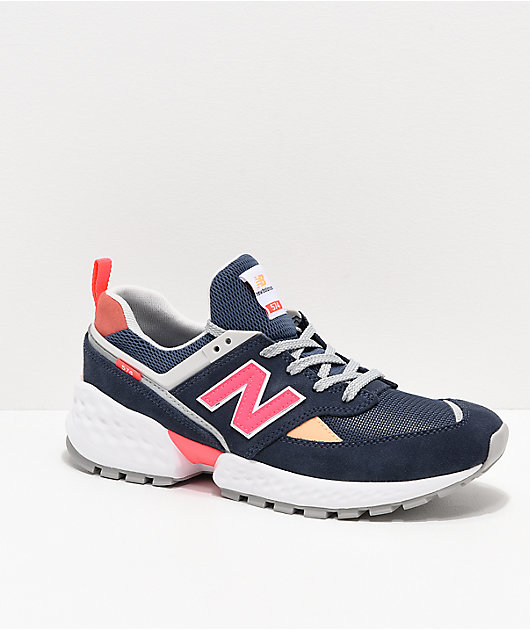 New Balance Lifestyle 574 Sport Navy \u0026