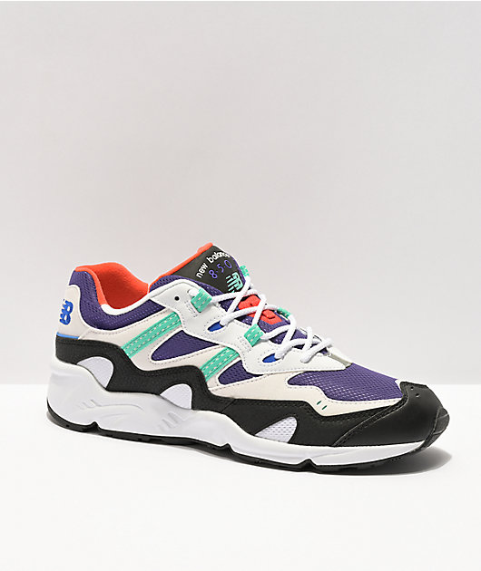 New Balance Lifestyle 850 Whitem Purple & Teal Shoes