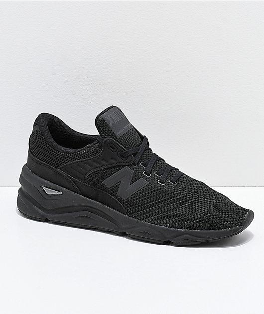 New Balance Lifestyle X-90 Black Shoes