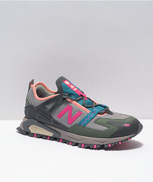 New Balance Lifestyle XRCT Marblehead & Pink Shoes