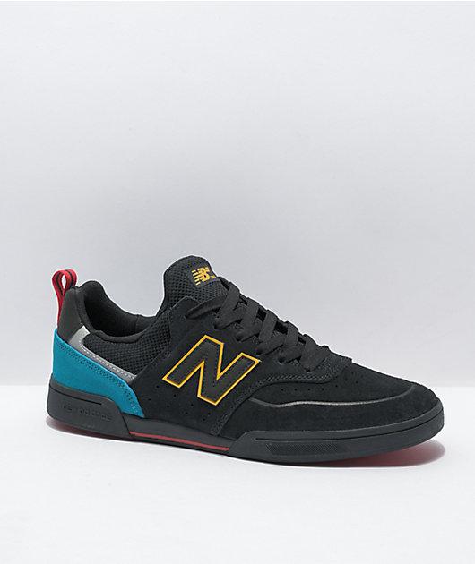 New Balance Numeric 288 Black & Turquoise Skate Shoes