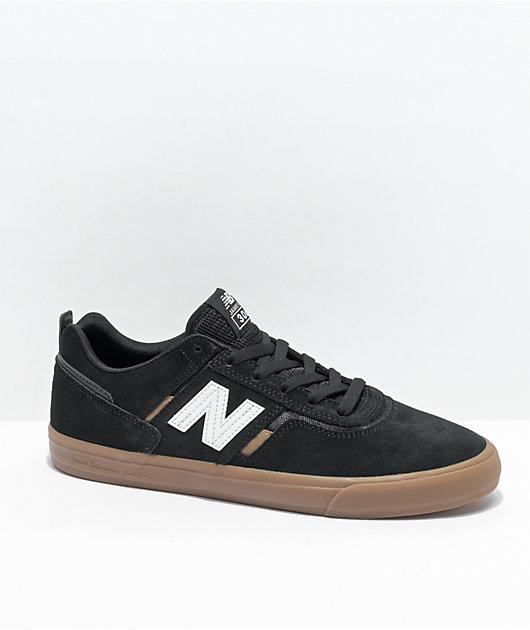 New Balance Numeric 306 Jamie Foy Black & Gum Skate Shoes