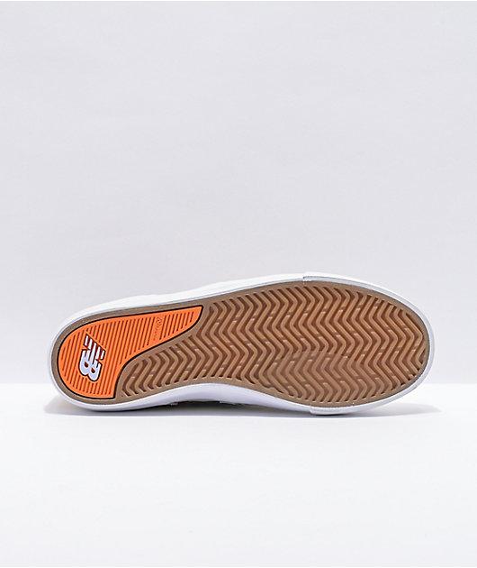 New Balance Numeric 306 Jamie Foy Cream & Green Skate Shoes