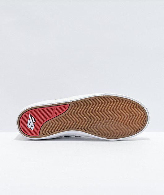 New Balance Numeric 306 Jamie Foy White, Red & Blue Skate Shoes