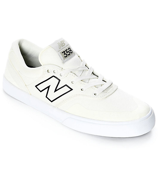New Balance Numeric 358 Arto White