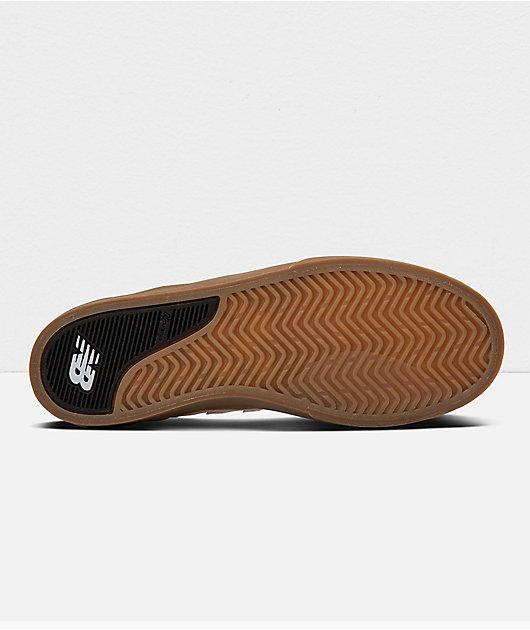 New Balance Numeric 379 Pink & Gum Skate Shoes