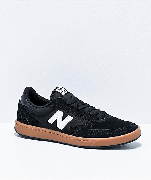 New Balance Numeric 440 Black & Gum Skate Shoes