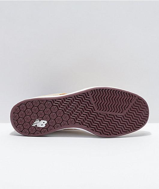 New Balance Numeric 440 Cream & Gold Skate Shoes