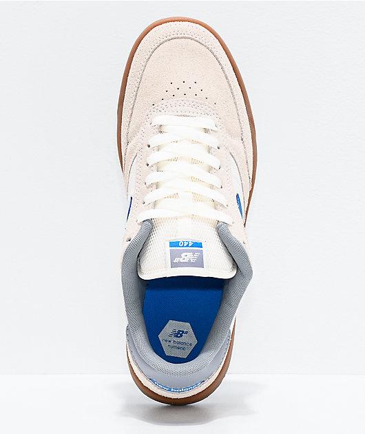New Balance Numeric 440 Sea Salt zapatos de skate azules