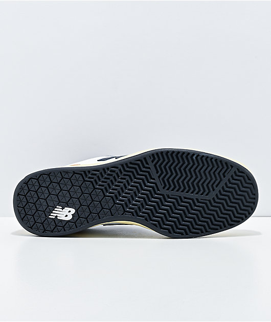 New Balance Numeric 440 White & Navy Skate Shoes