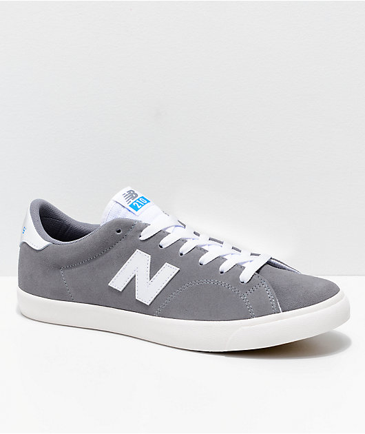 New Balance Numeric AM 210 Grey \u0026 White