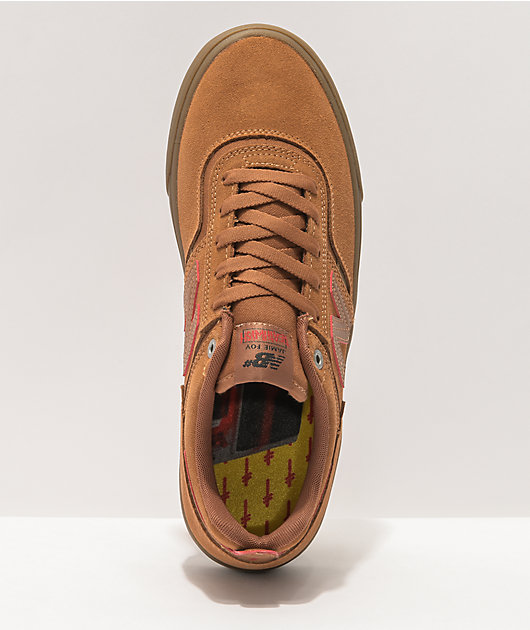 New Balance Numeric x Deathwish 306 Foy Tan Skate Shoes