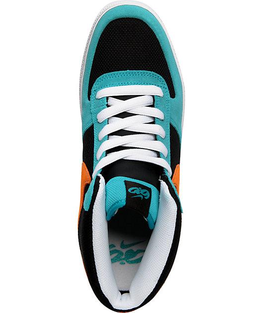 Nike 6.0 Mavrk 2 Mid Turquoise \u0026 Orange
