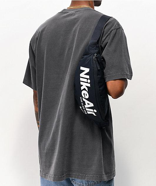 Nike Air Heritage riñonera negra