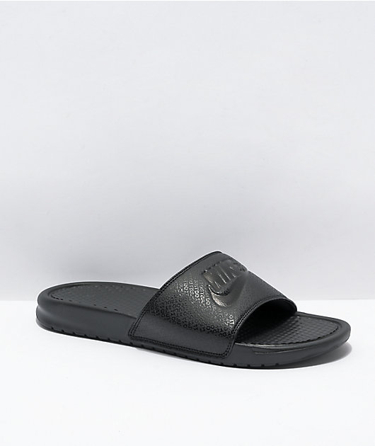Nike Benassi JDI Black Slide Sandals